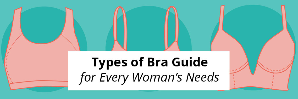 Types of Bra Guide for Every Woman's Needs