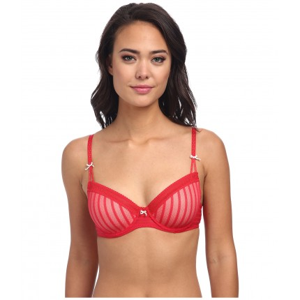 Betsey Johnson Stocking Stripe Convertible Lightly Lined Demi Bra 723803 6PM7566274 Ski Patrol