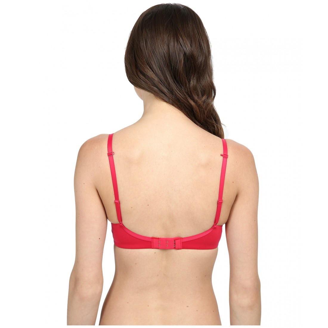 d1c5edf726 Betsey Johnson Forever Perfect Demi Bra 723800 6PM8408455 Red Hot