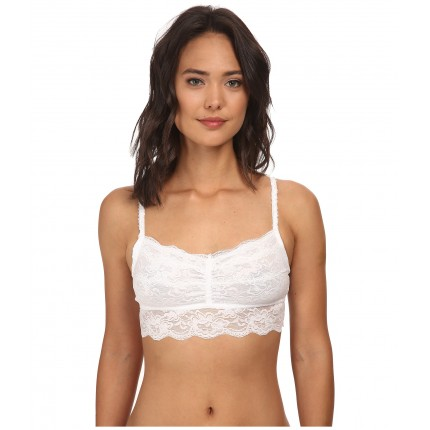 Brigitte Bailey Lace Bra Top w/ Spagetti Straps 6PM8519997 White