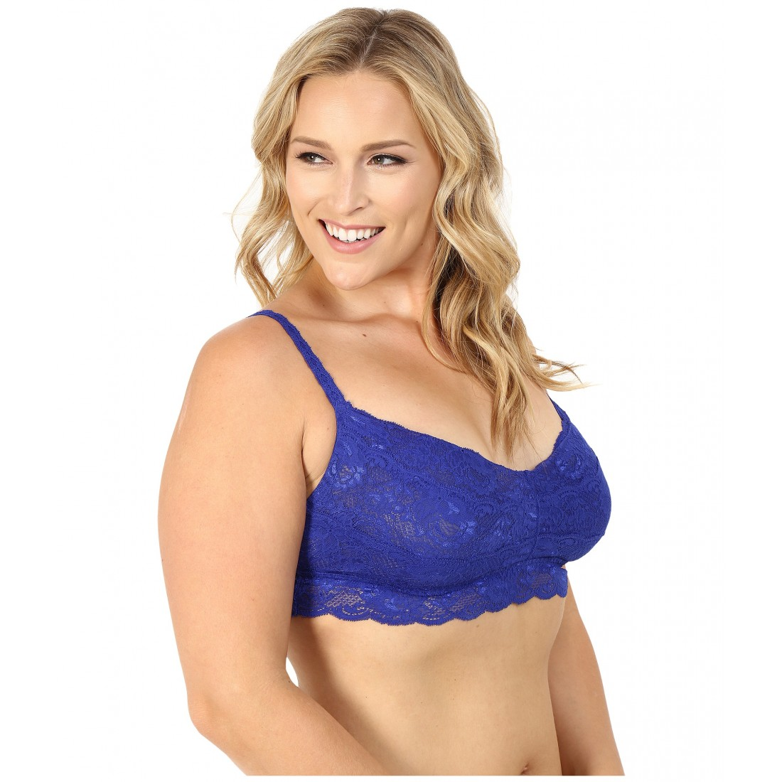 29ed2ae4bca4f Cosabella Plus Size Never Say Never Sweetie Soft Bra NEVER1301P 6PM8676858  Ultra Blue
