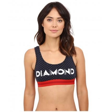 Diamond Supply Co. Deco Bralette 6PM8776571 Navy