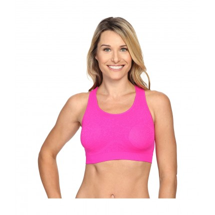 Fila Running with Roses Seamless Bra 6PM8766757 Pink Glo Jacquard