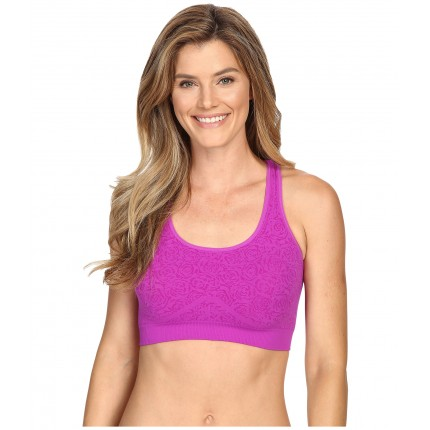 Fila Running with Roses Seamless Bra 6PM8766757 Purple Cactus Flow