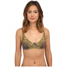 Free People Caught in My Web Plunge Underwire Bra F382O837