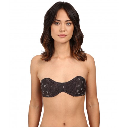 Free People Sugar Sugar Strapless Bra OB479553 6PM8752683 Charcoal Combo