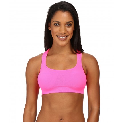 Jockey Active Performance Push-Up Seamless Sports Bra 6PM8518707 Knockout Pink
