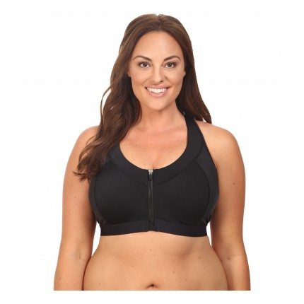 Marika Curves Plus Size Sierra Sports Bra 6PM8795492 Black