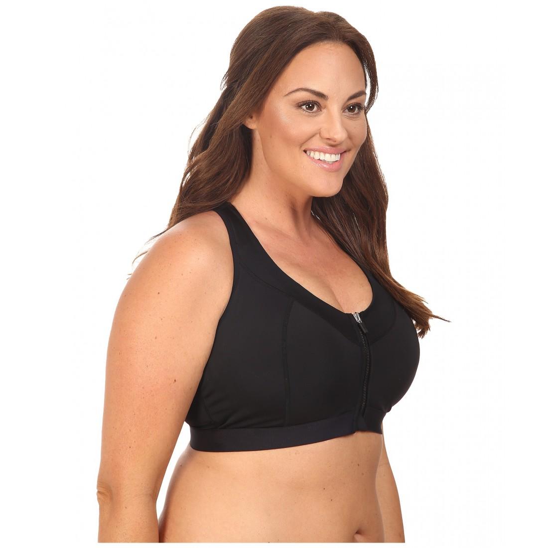 05833316ef078 Marika Curves Plus Size Sierra Sports Bra 6PM8795492 Black