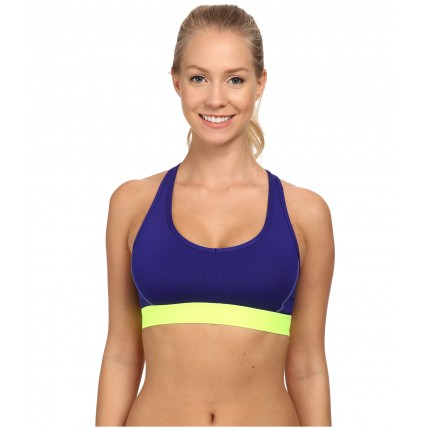Marmot Layer Up Sportsbra 6PM8452109 Midnight Purple/Hyper Yellow