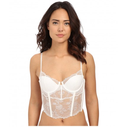 Natori Chantilly Lace Bustier 171085 6PM8677814 Warm White