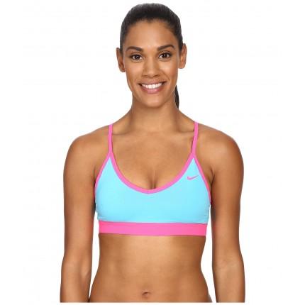 Nike Pro Indy Bra 6PM8318605 Omega Blue/Omega Blue/Hyper Pink/Hyper Pink