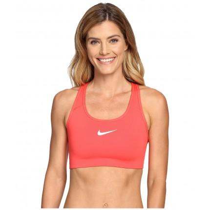 Nike Pro Classic Swoosh Sports Bra 6PM8717537 Ember Glow/White