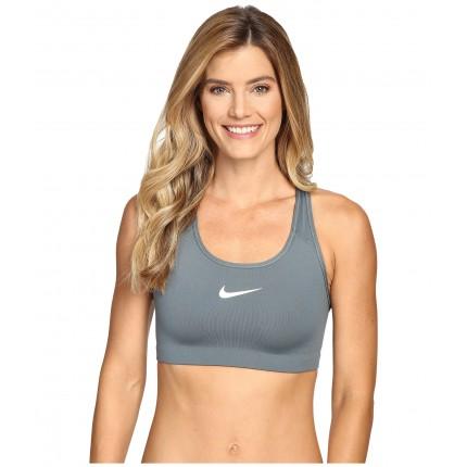 Nike Pro Classic Swoosh Sports Bra 6PM8717537 Hasta/White
