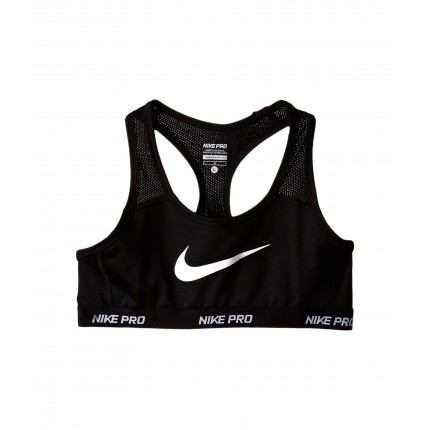 Nike Kids Pro Hypercool Sports Bra (Little Kids/Big Kids) 6PM8466204 Black/Black/Black/White