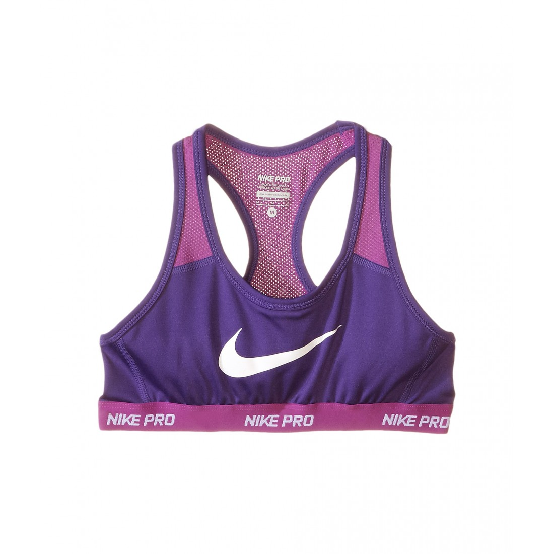 official photos 96c32 c4698 Nike Kids Pro Hypercool Sports Bra (Little Kids Big Kids) 6PM8466204 Court  Purple