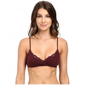 Only Hearts Organic Cotton Wrap Bralette