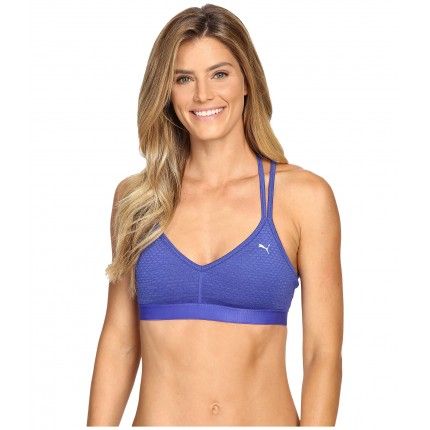 PUMA Yogini Live Bra 6PM8830681 Royal Blue Heather/Royal Blue