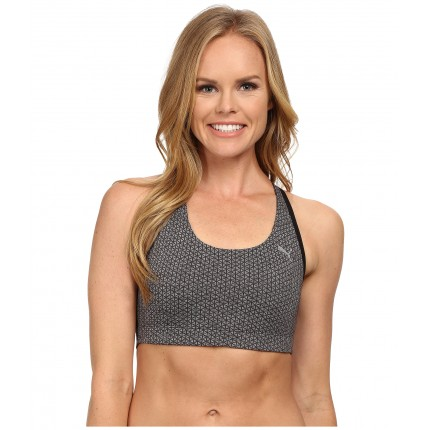 PUMA WT Essential Graphic Bra 6PM8871624 Black Heather/Jacquard