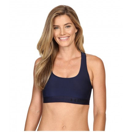 Under Armour Armour Crossback Mid Bra 6PM8704575 Midnight Navy/Midnight Navy/Black