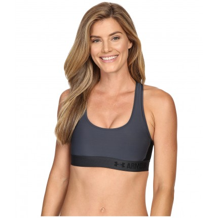 Under Armour Armour Crossback Mid Bra 6PM8704575 Stealth Gray/Stealth Gray/Black