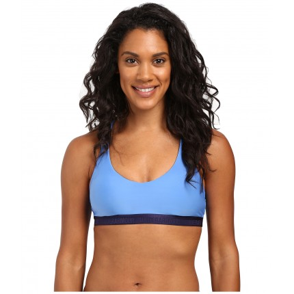 Under Armour UA Armour Low Strappy Bra 6PM8704612 Water/Midnight Navy/Midnight Navy