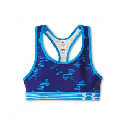 Under Armour Kids HeatGear Alpha Printed Sports Bra (Big Kids) 6PM8506641 Europa Purple/Europa Purple