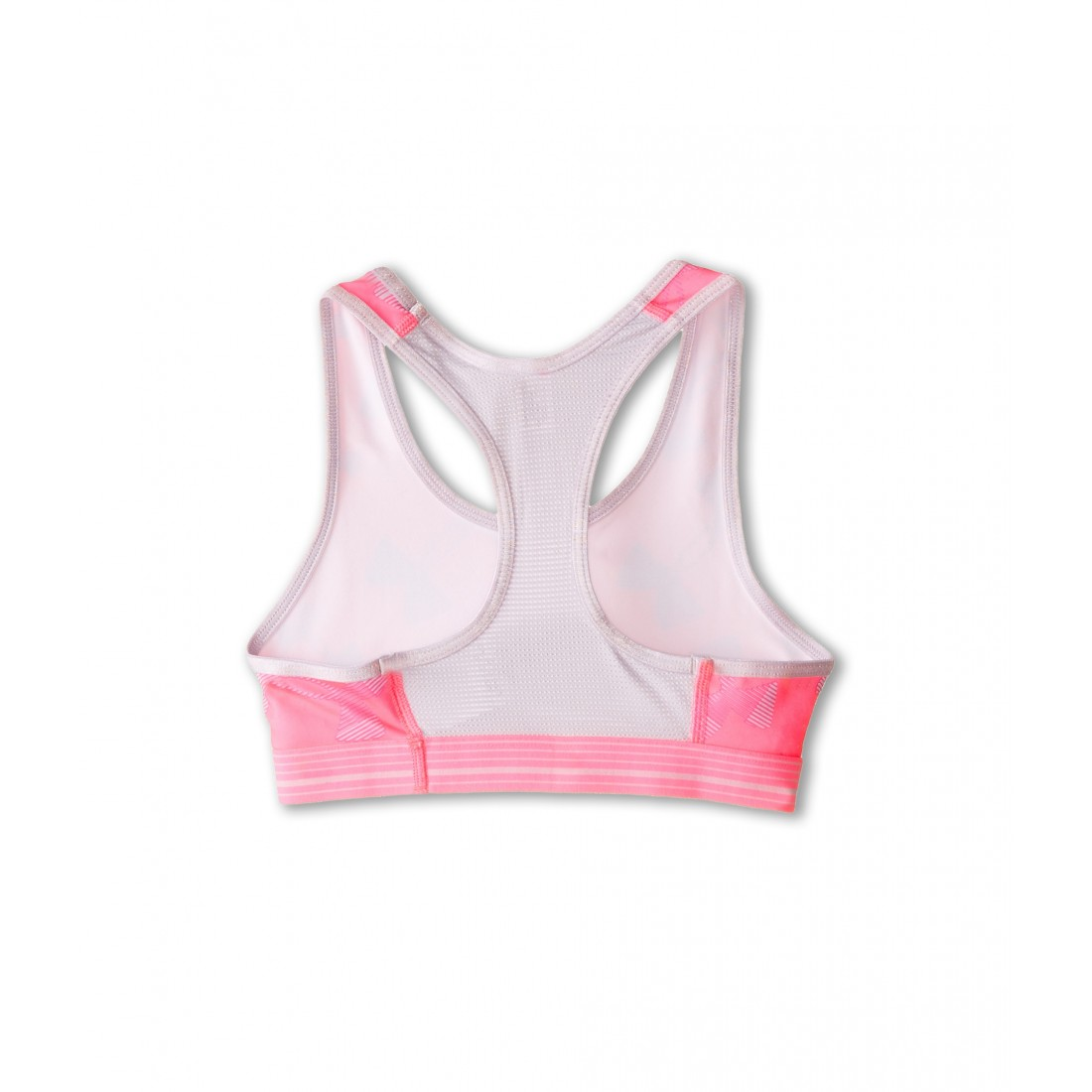 37137ece9f Under Armour Kids HeatGear Alpha Printed Sports Bra (Big Kids) 6PM8506641  Pink Punk