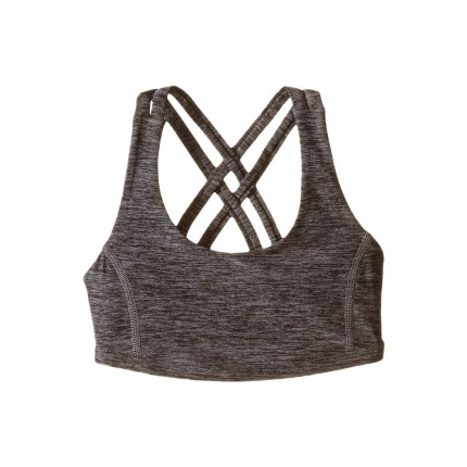 Under Armour Kids On the Move Bra (Big Kids) 6PM8626069 Carbon Heather