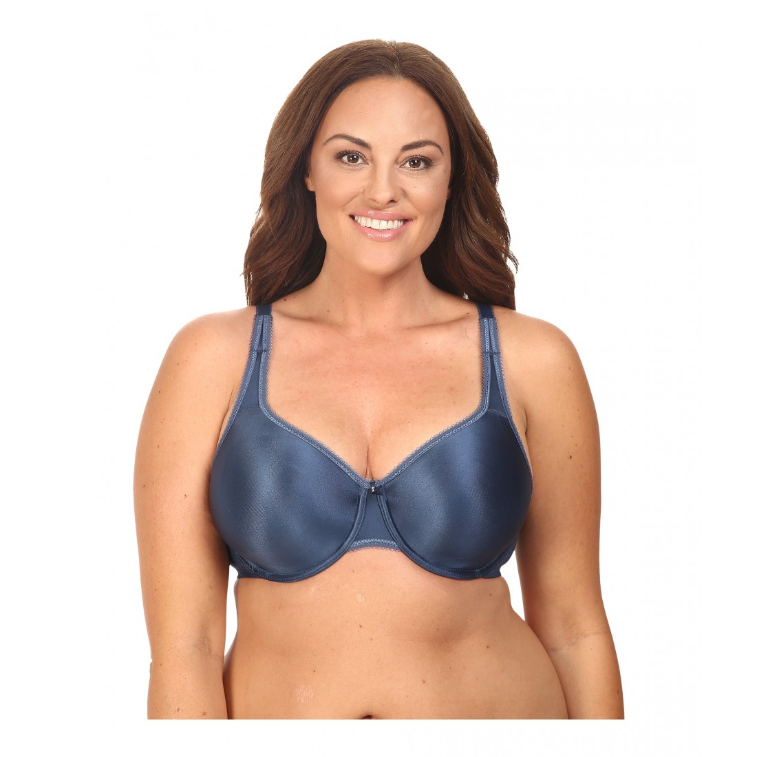 1de14159404 Wacoal Basic Beauty Full Figure Underwire Bra 855192 6PM7900208 Dark Denim
