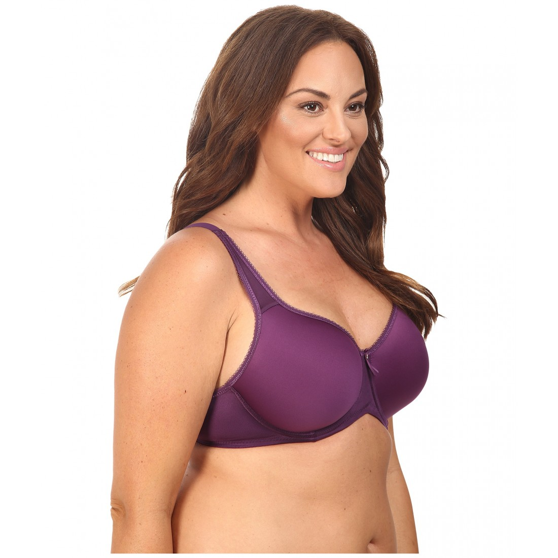 2d0ce41e67 Wacoal Basic Beauty Spacer Underwire T-Shirt Bra 853192 6PM8418603 Wineberry