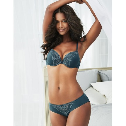 Adore Me Connie Push-Up Bra & Panty ADM26255