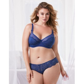 Adore Me Corin Unlined Plus Bra & Panty