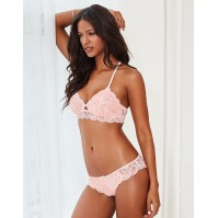 Adore Me Henley Unlined Bra & Panty
