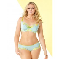 Adore Me Lilou Unlined Plus Bra & Panty