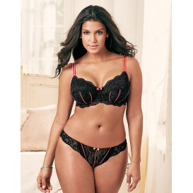 Adore Me Persia Unlined Plus Bra & Panty
