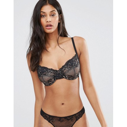 ASOS FULLER BUST Ria Basic Lace Mix & Match Underwire Bra AS554423