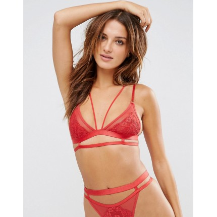 ASOS Emily Lace Strappy Triangle Bra AS790644