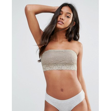 Free People Scalloped Edge Trim Bandeau AS884079