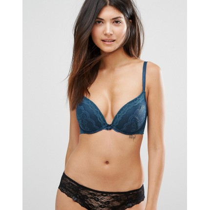 New Look Fuller Bust Lace Push Up Bra AS902996