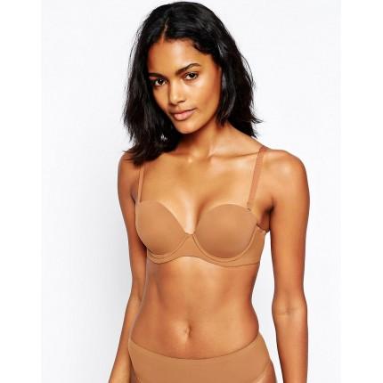 Nubian Skin Strapless Convertible Bra AS627258