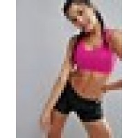 Puma Powershape Medium Support Racer Back Gym Bra In Pink
