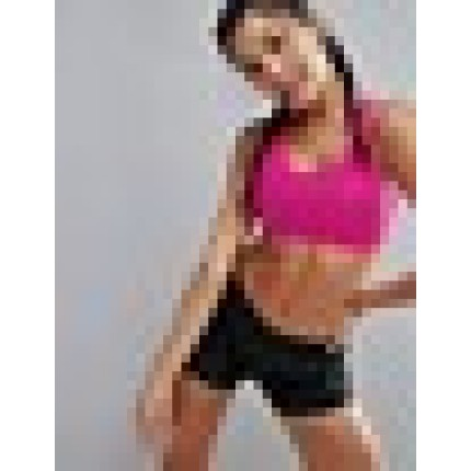 Puma Powershape Medium Support Racer Back Gym Bra In Pink AS875009