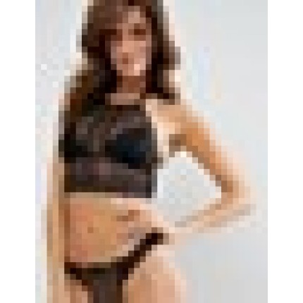 River Island Longline Bra With Strappy Detail AS985047