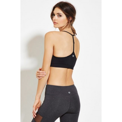 Forever 21 Low Impact - Sports Bra F2000150696 black