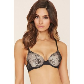 Forever 21 Invisible Edge Lace Bra