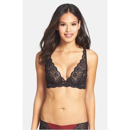 Commando Tulip Lace Triangle Bra NS1012473