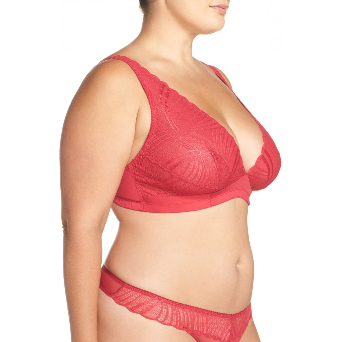 934fb3231a9 Cosabella Minoa Wireless Triangle Bra (Plus Size) NS5228611