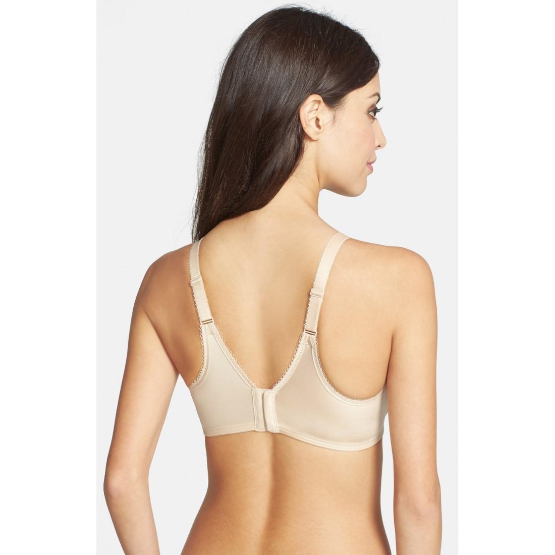 33f6eceffa Wacoal Basic Beauty 855192 Full Figure Underwire Bra NS269403