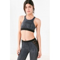 Blue Life Fit Zip It Sports Bra